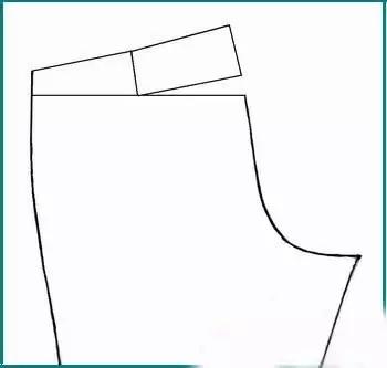 超详细的裤子打版和裁剪图计算公式!速藏!