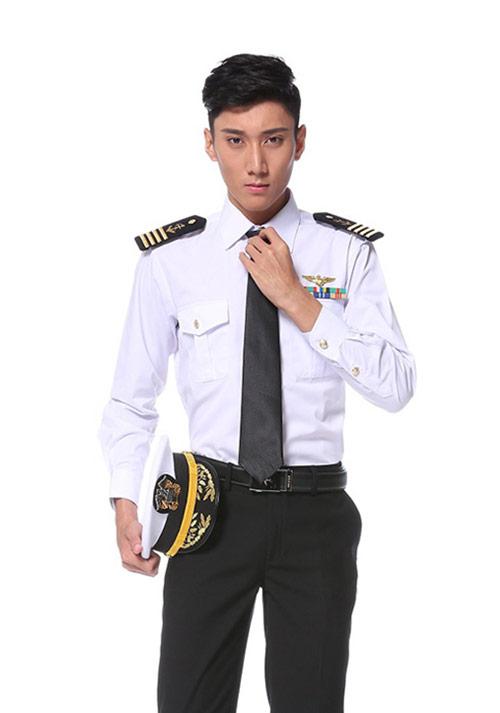 男士航空衬衫