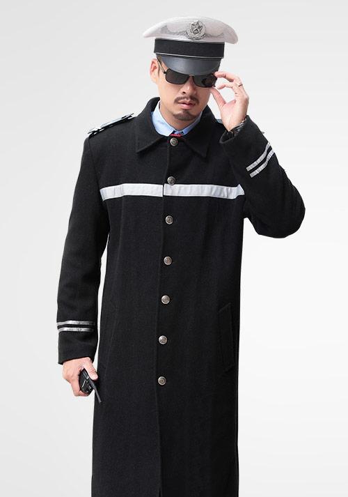安保保暖大衣制服