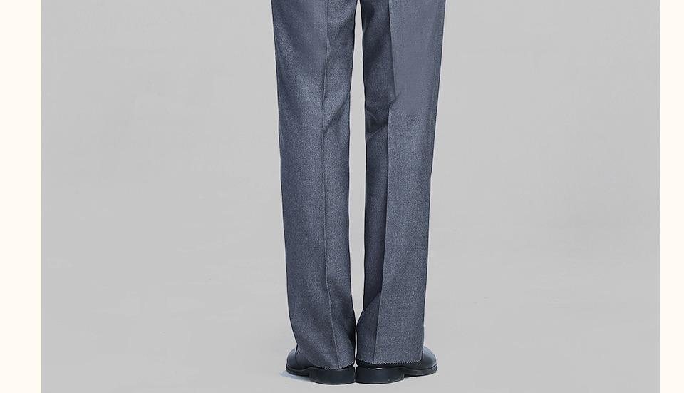 新款中灰色男士西裤