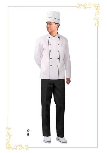 定制厨师工作服的好处以及如何解决厨师服的抗皱问题